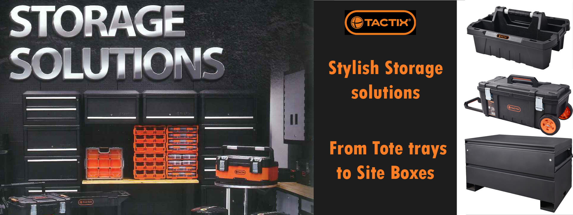 Tactix Tools - Tool Storage for all